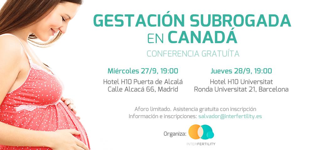 Conferencia gestación subrogada Canadá