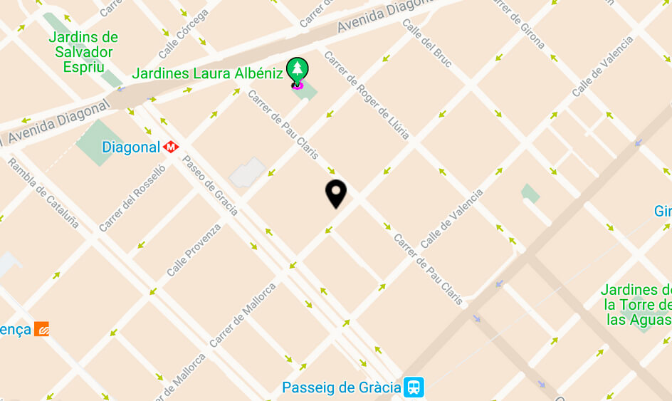 mapa interfertility barcelona