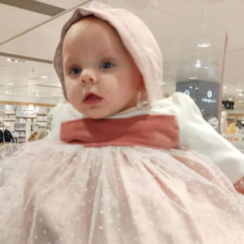 bebé Pilar retrato